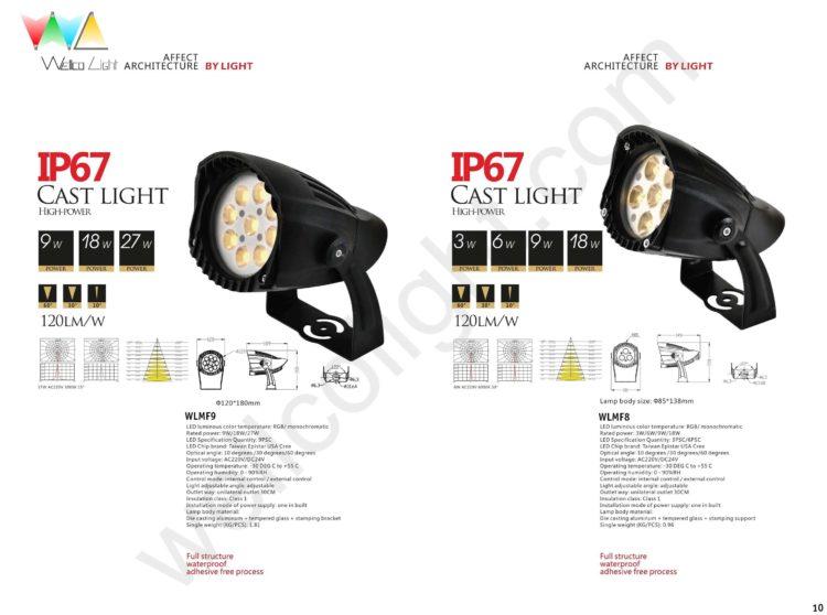 LED flood light wlmf9 / wlmf8