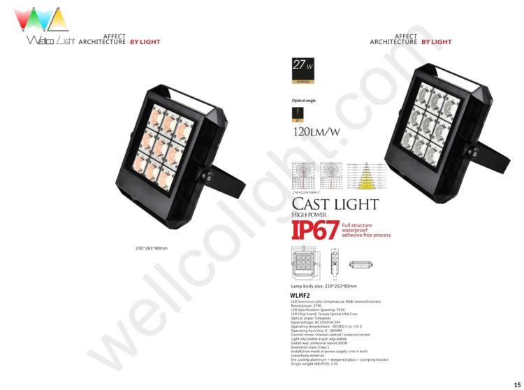 LED flood light wlmf2