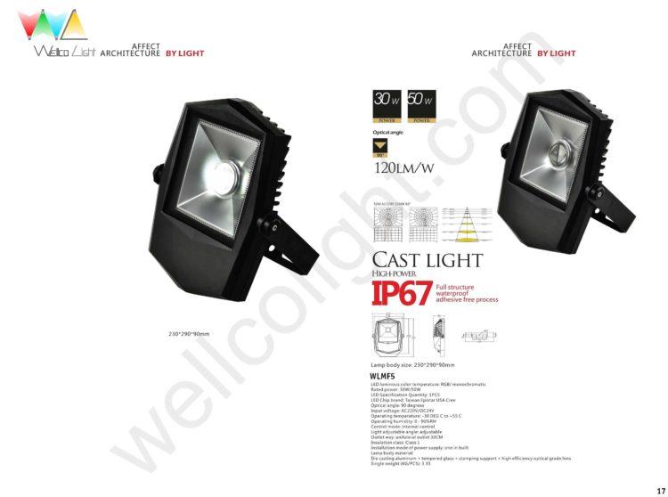 LED flood light wlmf5