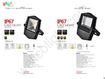 LED flood light wlmf4 / wlmf6