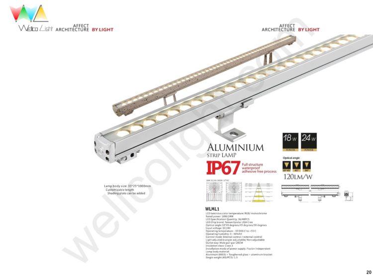 LED linear light wlml1