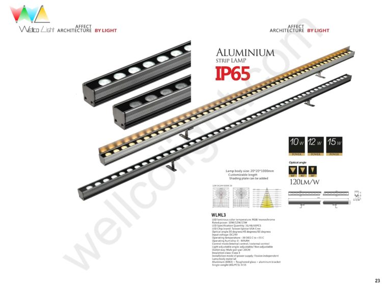 LED linear light wlml3