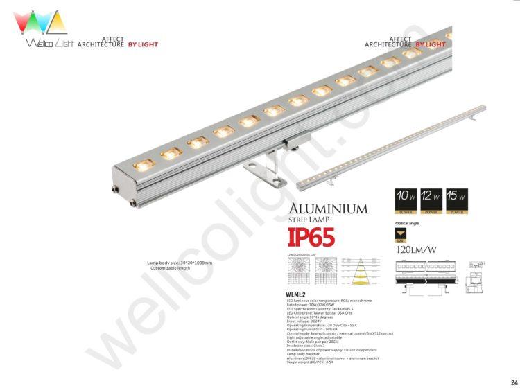 LED linear light wlml2