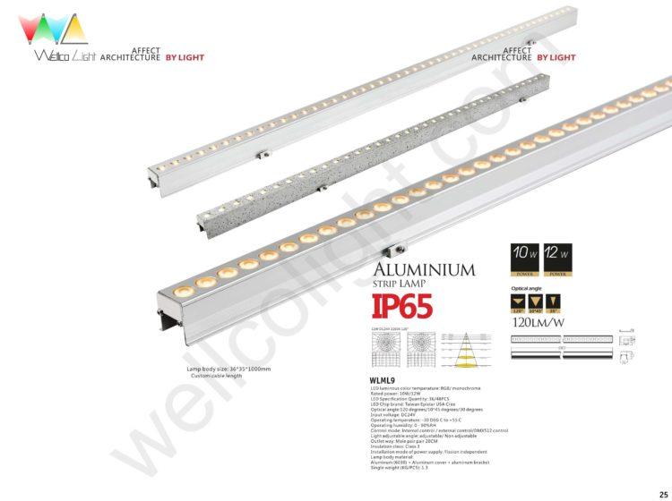 LED linear light wlml9