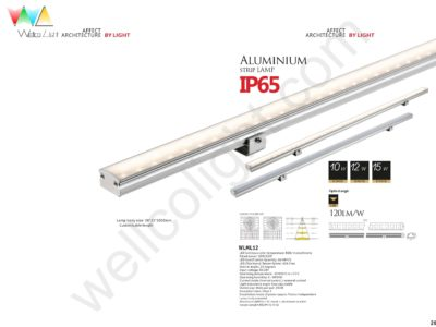 LED linear light wlml12
