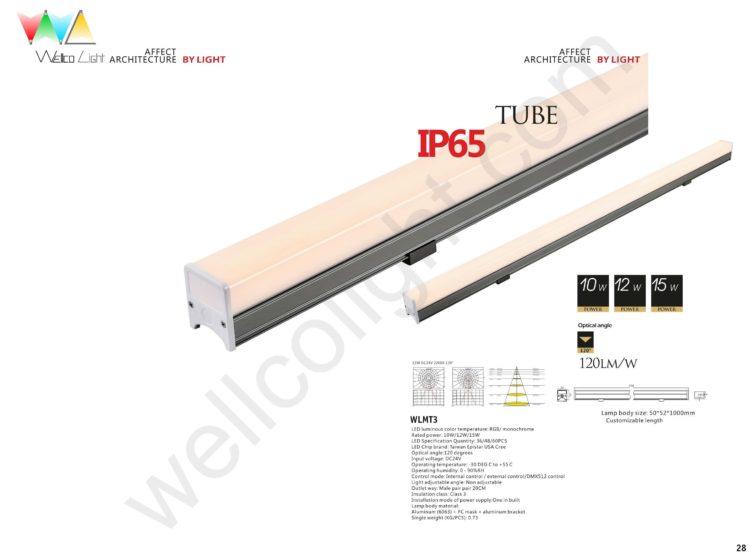 LED tube light wlmt3