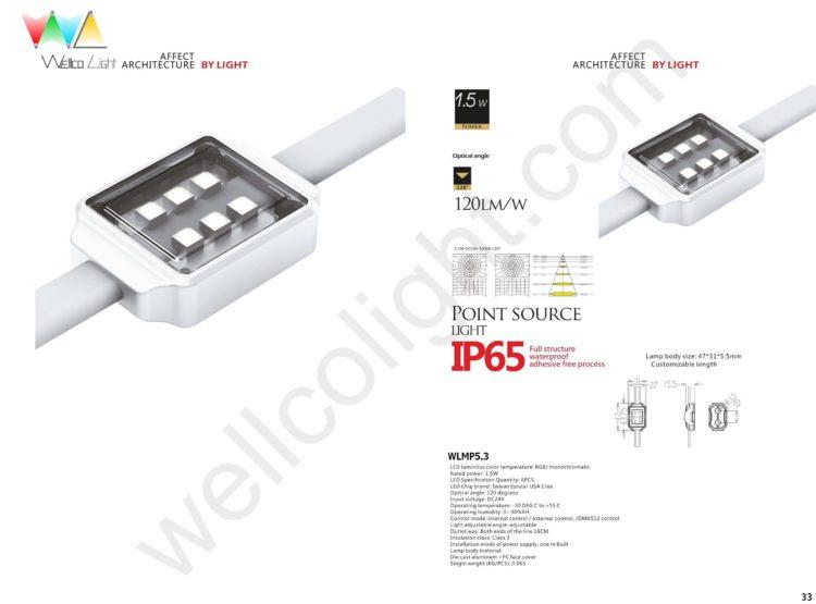 LED point source light wlmp5.3
