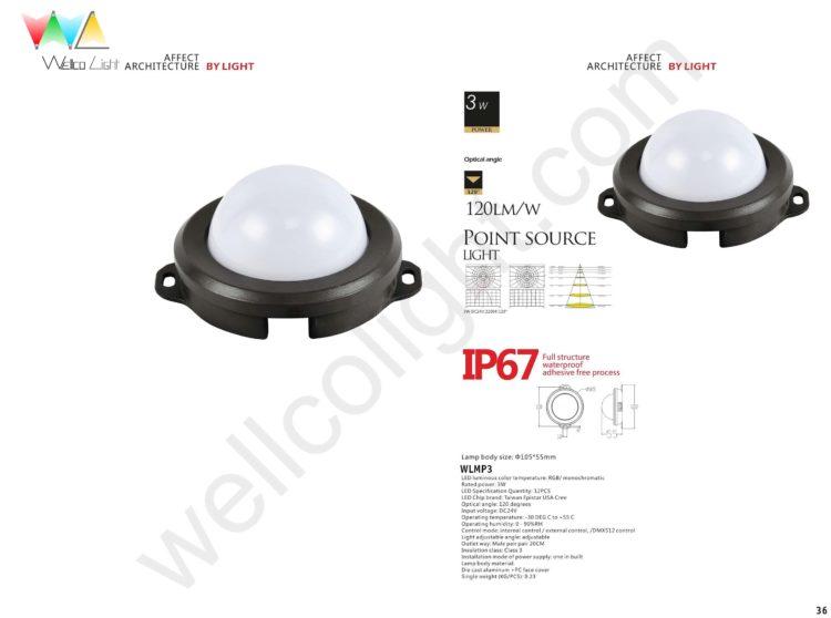 LED point source light wlmp3