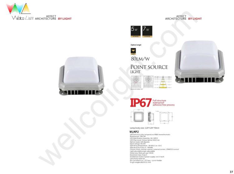 LED point source light wlmp2