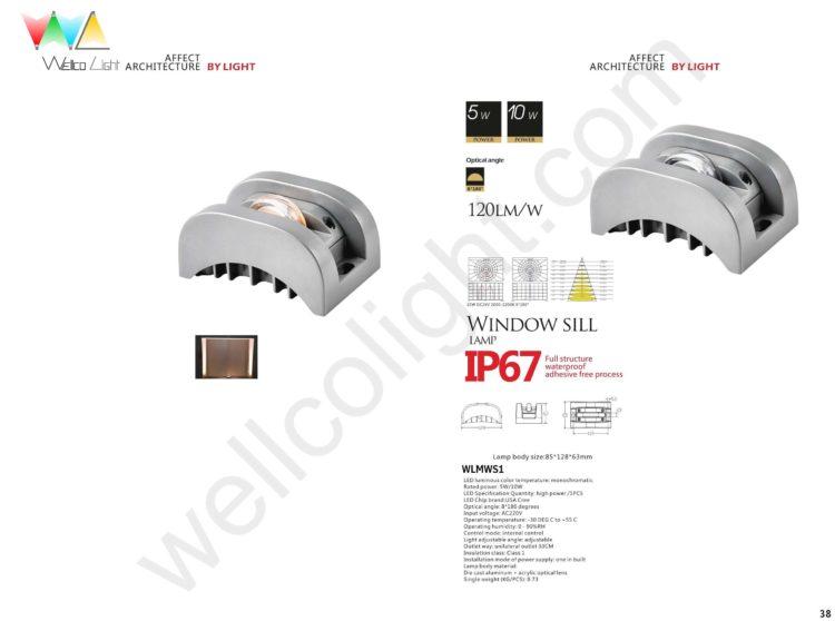 LED window sill light wlmws1