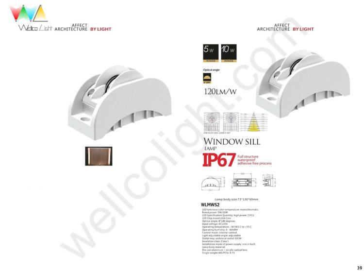 LED window sill light wlmws2
