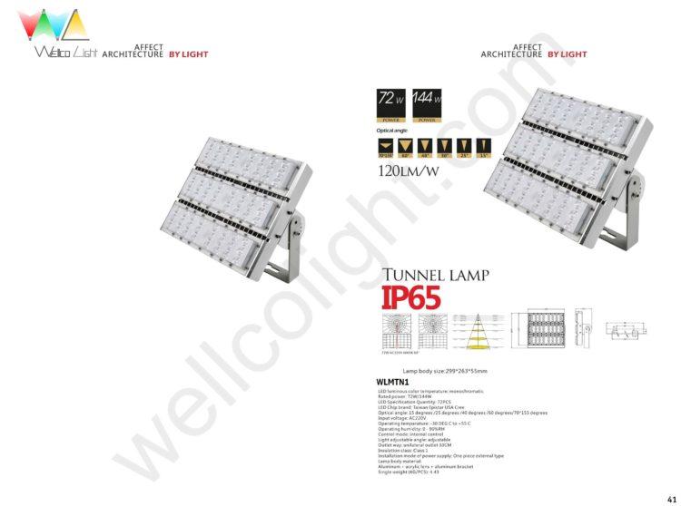 LED tunnel light wlmtn1