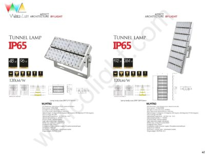 LED tunnel light wlmtn2 / wlmtn3