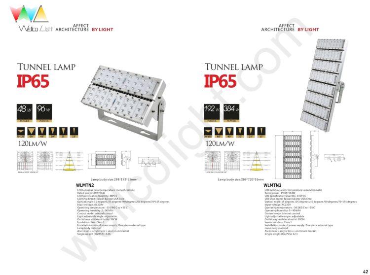 LED tunnel light wlmtn2 / wlmtn3