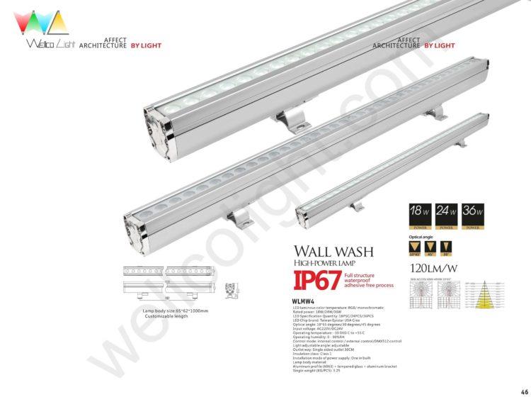 LED wall wash light wlmw4