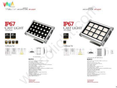 LED flood light wlmf25 / wlmf22