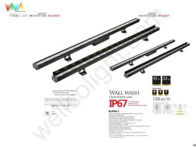 LED wall wash light wlmw9.1