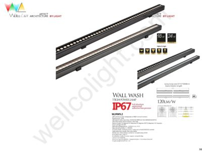 LED wall wash light wlmw9.2
