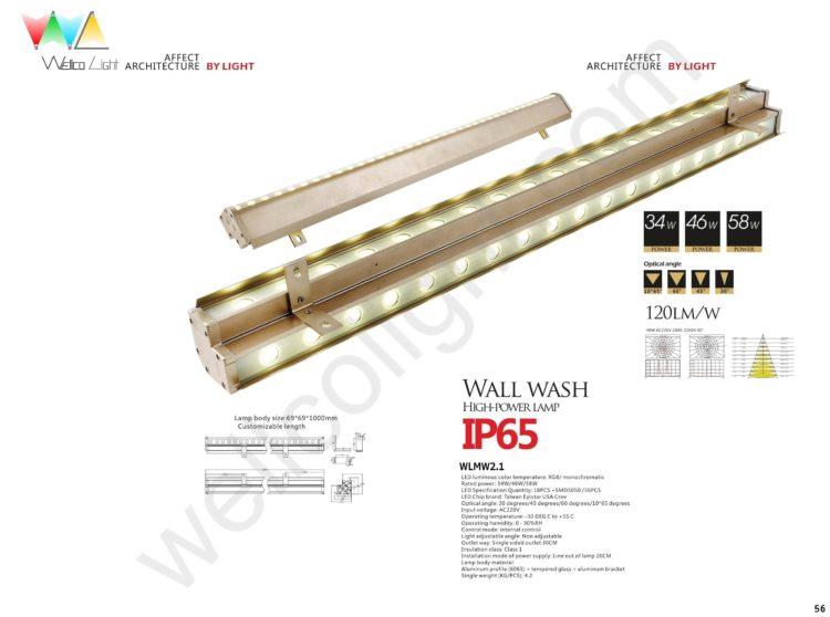 LED wall wash light wlmw2.1