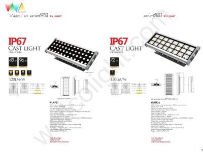 LED flood light wlmf27 / wlmf24