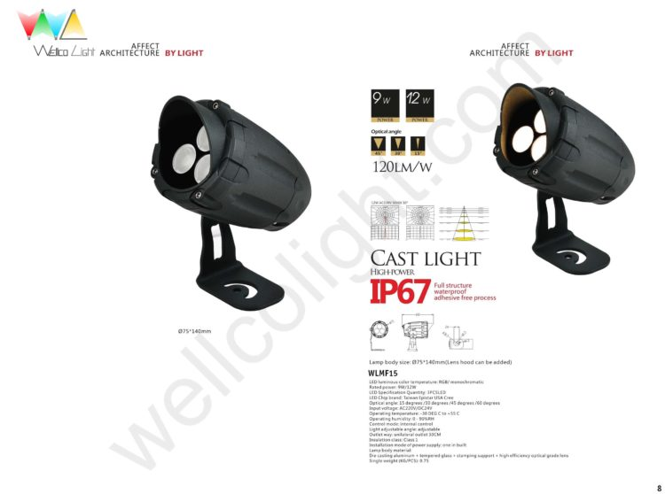 LED flood light wlmf15