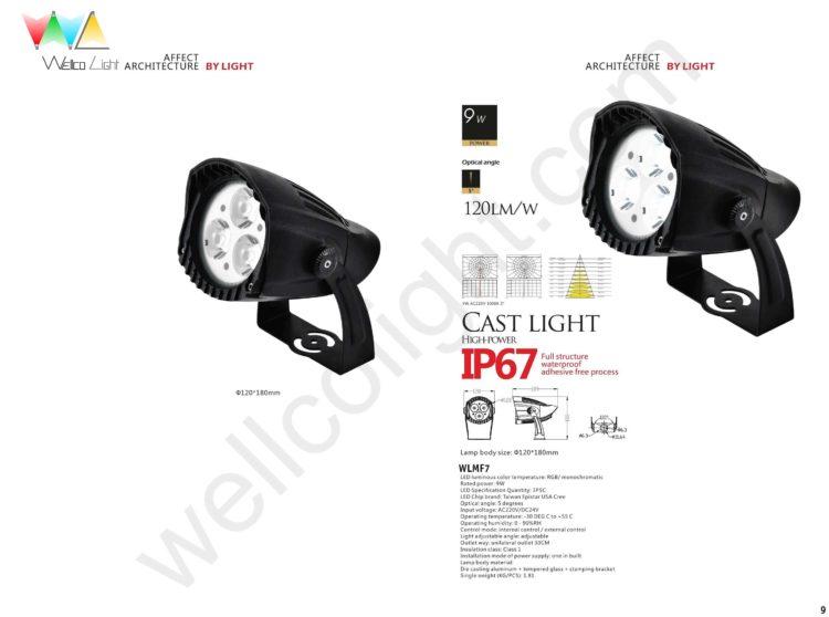 LED flood light wlmf7